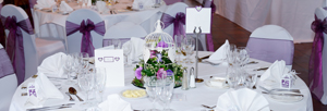 Wedding Table Setting 300x100